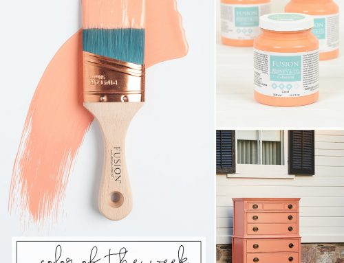 Fusion colour of the week – Coral