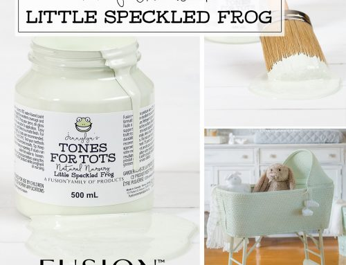 Fusion colour of the week – Little Speckled Frog